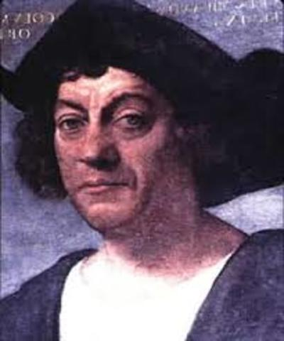 Christopher columbus left for spain