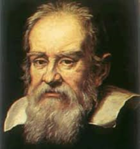 Galileo published his findings