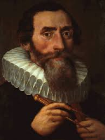 Johannes Kepler confirmed Conpernicus's theory
