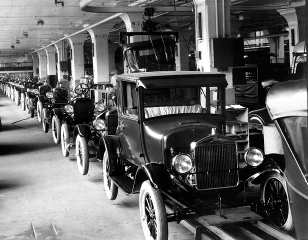 Model T Production Picks Up