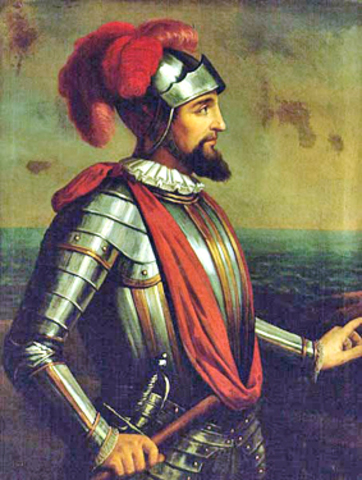 Vasco Núñez de Balboa of Spain Made an Overland Crossing of the Isthmus of Panama