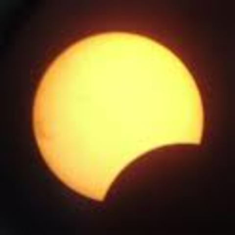 Second stage of a eclipse.