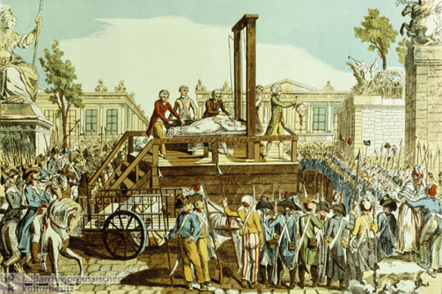 King Louis XVI is executed