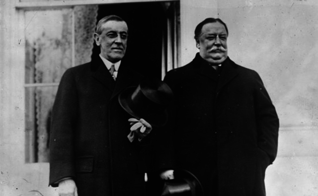 Wilson Defeats Taft for Presidency