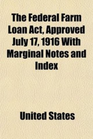 Federal farm Loan Act
