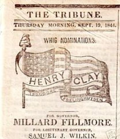 Founding of Whig Party