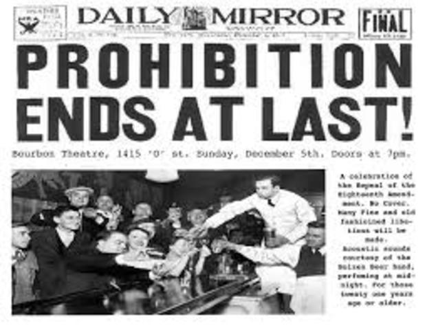 an analysis of alcohol in eighteenth amendment The 21st amendment to the us constitution is ratified, repealing the 18th amendment and bringing an end to the era of national prohibition of alcohol in america at 5:32 pm est, utah became.