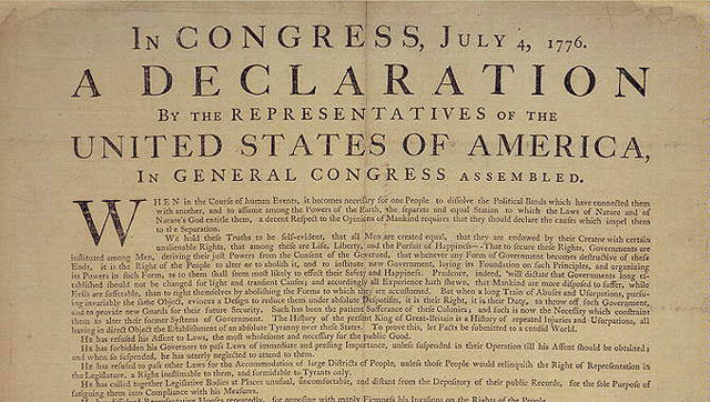 essay about the principles in the declaration of independence Declaration of independence the main purpose of     the principles in the declaration of independence were.