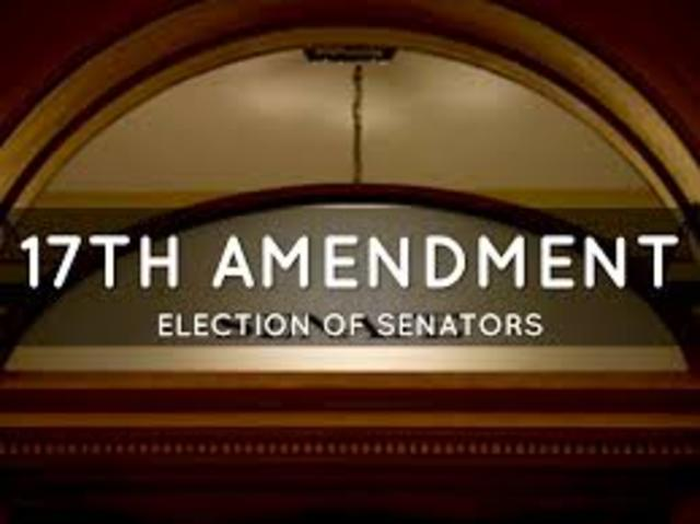 Ratification of the Seventeenth Amendment