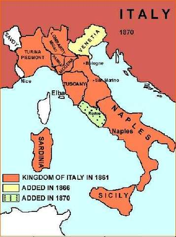 the similarities between the italian and german unification What factors worked against german unification  the italian states,  and ethnic similarities share to: answered.