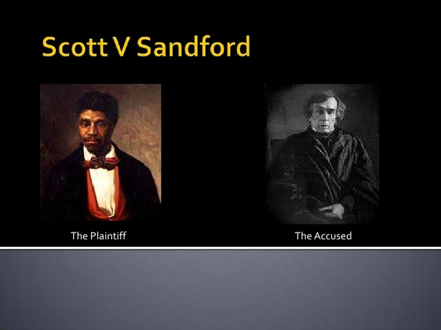 a landmark decision in the history of the supreme court in dredd scott case In the case, the supreme court ruled that scott was still a slave, and therefore,   the dred scott decision was a landmark case in that it drew a clear line of how.