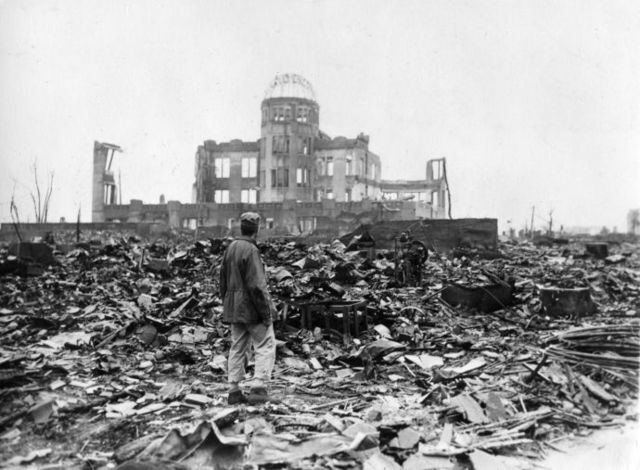 US drops the Atomic Bomb on Hiroshima; End of WWII