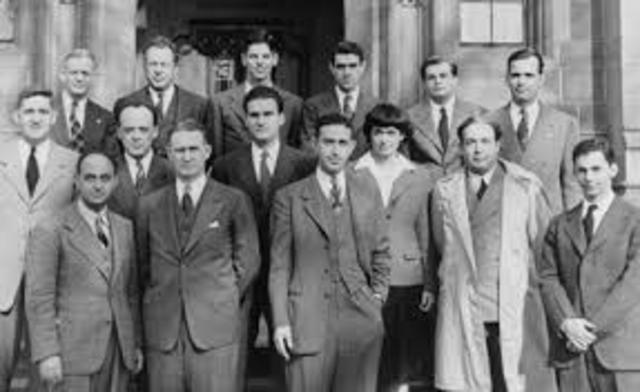 nuclear research started in the creation of the manhattan project The story of the atomic bomb started around the turn of the century when a small number of physicists began to think about, discuss, and publish papers about the phenomenon of radioactivity, the behavior of alpha particles, and the properties of various materials when irradiated.