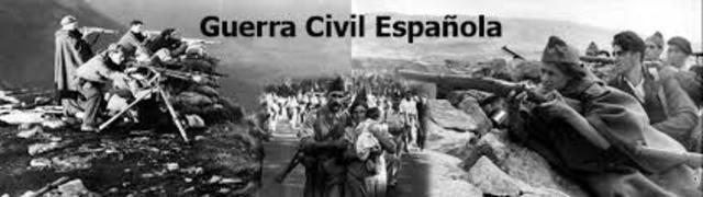 video de la guerra civil española
