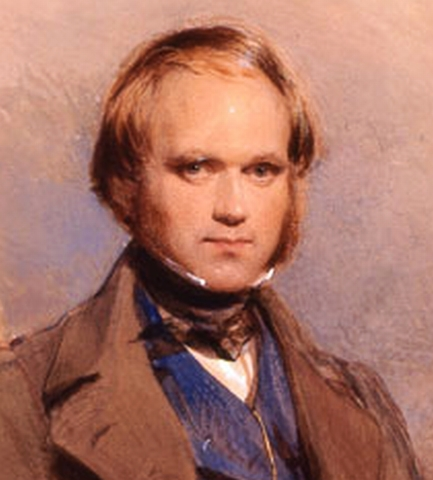 Birth of Charles Robert Darwin