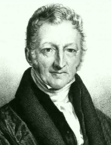 Thomas Malthus writes his essay on Principles of Population