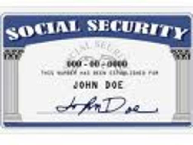 (3) Social Security established