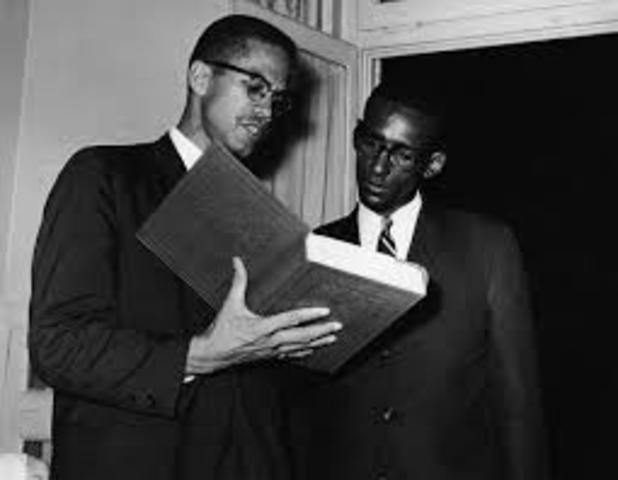 Malcom X no siguió el groupo Nation de Islam