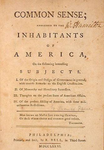 persuading colonial america to revolt against britain in common sense by thomas paine Thomas paine has been celebrated for his role in persuading the american colonists to revolt against britain and declare their independence at the same time, however, scholars have generally dismissed his writings as propaganda.