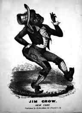 the initiation of the jim crow laws cause utter chaos Out of the chaos came napoleon who re the british packed up and left louisiana in utter the case will be used to strike down jim crow segregation laws in.