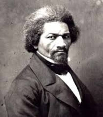 Birth of Frederick Douglass