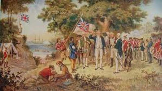 the reasons for british governments decision to establish colony in new south wales The british invasion of australia convicts: exile and the first fleet out to new south wales areas with regard to establishing penal colonies.