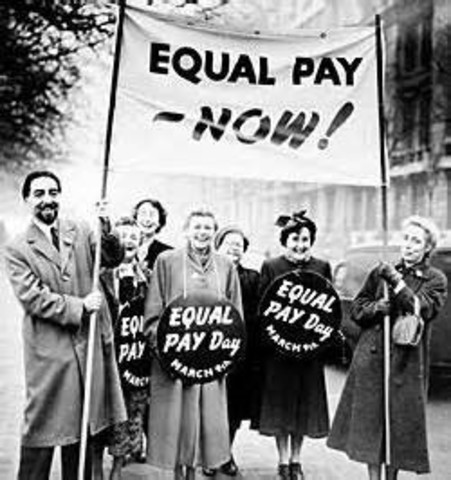 equal pay act of 1963 American association of university women members with president john f kennedy as he signs the equal pay act into law.