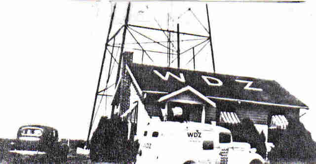 (2) First Radio station in Illinois