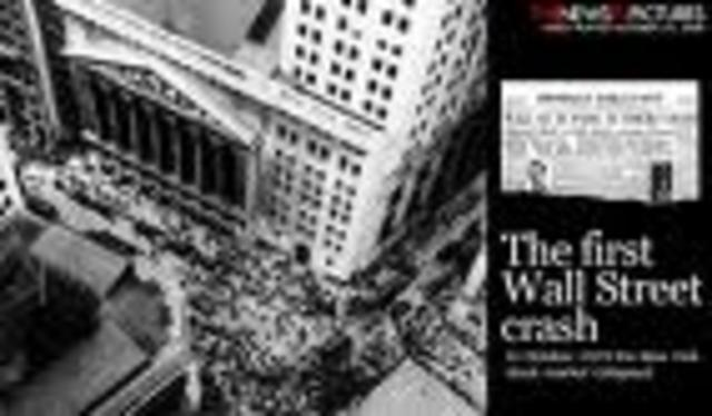 (3) Stock Market Crash starts depression