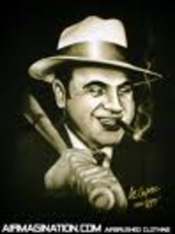 (3) Al Capone rises in infamy during Prohibition