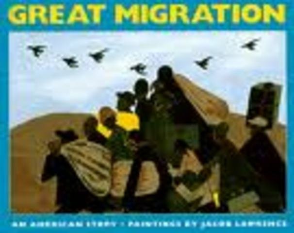 (5) Great Migration of Blacks from south to urban centers in north