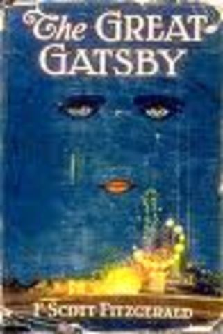 (5) The Great Gatsby by F. Scott Fitzgerald is published