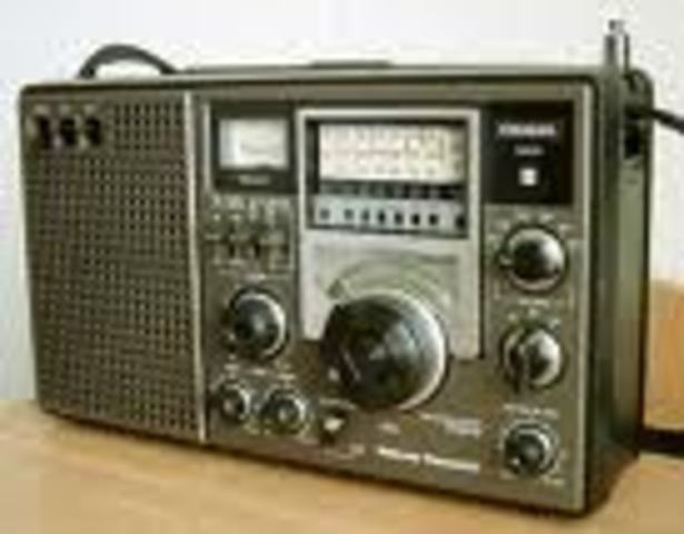 (2) Shortwave Radio invented
