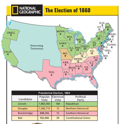 the presidental election of 1860 essay The election of 1860 abraham lincoln: the most important and divisive presidential election in american history took place in 1860.