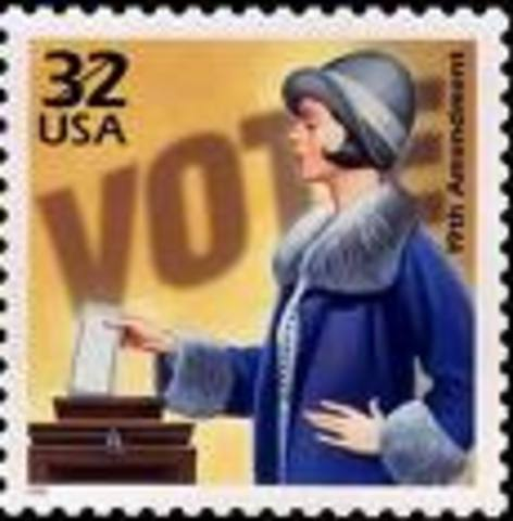 (5) Women gain the right to vote