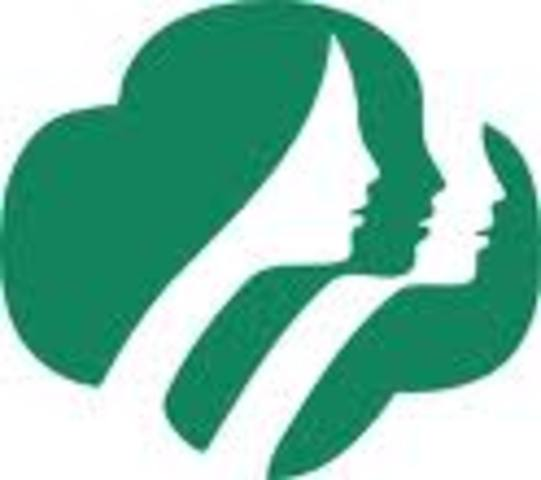 (5) Girl Scouts established