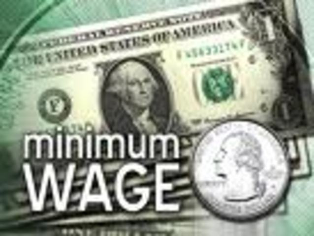 (3) Minimum wage is $.43 per hour