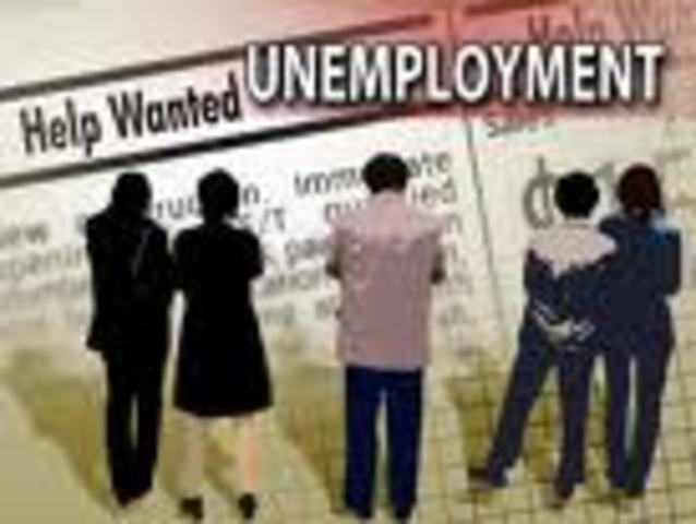 (3) Unemployment was at 8,120,000 people unemployed