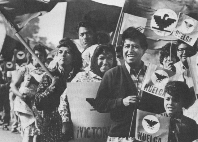 United Farm Workers founded; Start of Chicano Movement