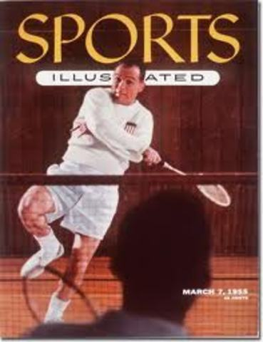 Sports Illustrated Badminton Cover