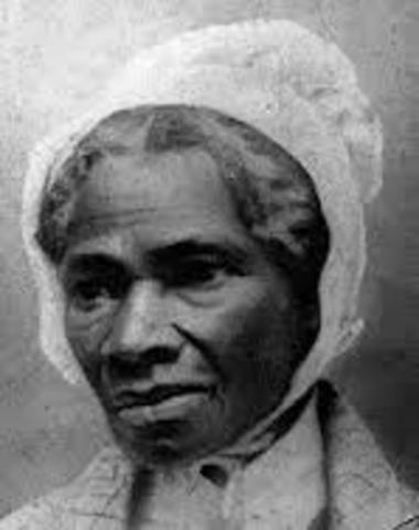 Sojourner Truth Dies