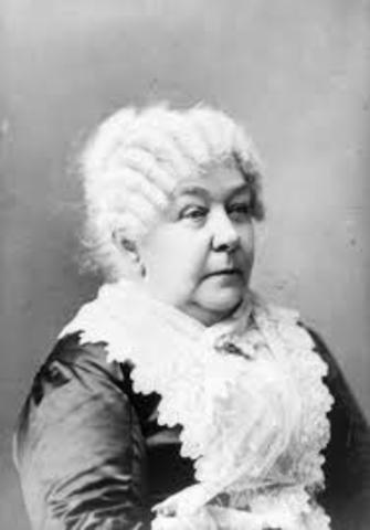 Birth of Elizabeth Cady Stanton