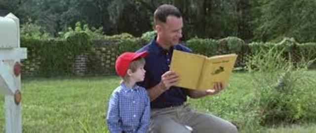 Forrest receives Jenny's letter and President Reagan is attacked