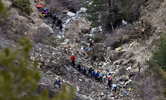 Germanwings Plane crashes in French Alps