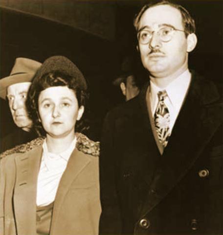 Julius and Ethel Rosenberg (d 1953)