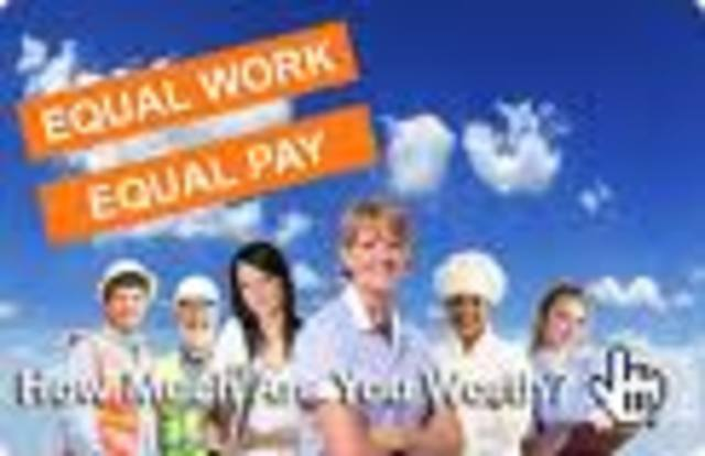 (3) Congress passes law that declares equal pay for equal work