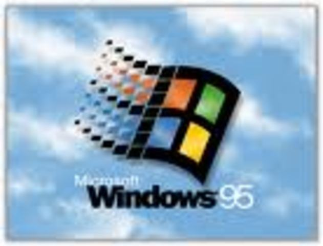 (2) Microsoft introduces Windows 95