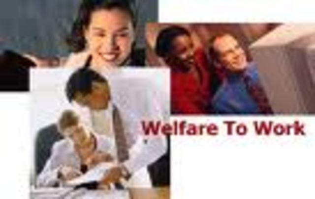 (3) The Welfare Reform Act signed by Clinton