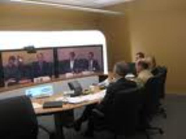 (4) Video teleconferencing is a way to have face-to-face meetings without travel