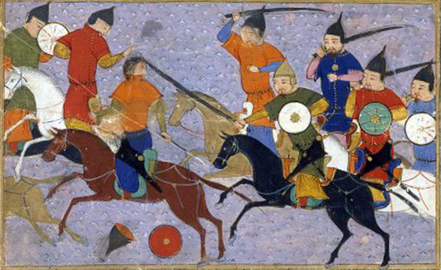 Genghis Khan Attacks Jin Dynasty